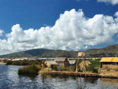 A night on Lake Titicaca