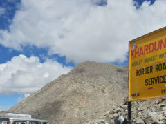 Highest road in the world